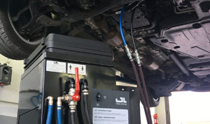 Automatikgetriebe-Ölwechsel inkl. Spülung